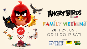 Angry Birds PEZ Family Weekend
