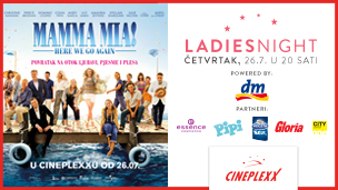 LADIES NIGHT  MAMMA MIA! HERE WE GO AGAIN