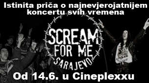 Scream for me, Sarajevo